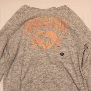 Brand New Girls Abercrombie sweater w/ hood.